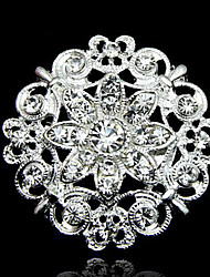 cheap -Women's Brooches Retro Flower Ladies Elegant & Luxurious Fashion Victorian Brooch Jewelry White For Daily Evening Party Prom Company Party