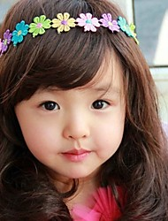 cheap -Korea Boutique Children's Jewelry Colorful Flowers Hair Band  2