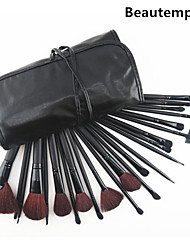 cheap -24 Makeup Brushes Professional Makeup Brush Set Goat Hair / Pony / Synthetic Hair Big Brush / Middle Brush / Goat Hair Brush / Pony Brush
