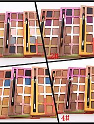 cheap -10 Colors Eyeshadow Palette Powders Shimmer Eye Matte Shimmer Glitter Shine smoky Coloured gloss Long Lasting Natural Daily Makeup Smokey Makeup Cosmetic Gift