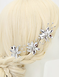cheap -Wedding / Party / Party / Evening Party Accessories Charms / Accessory / Others Material / Rhinestone / Alloy Classic Theme / Holiday / Hairpins / Women's / Hairpins