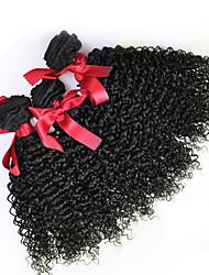 cheap -3 Bundles Malaysian Hair Curly Curly Weave Human Hair Natural Color Hair Weaves / Hair Bulk Human Hair Weaves Human Hair Extensions / 8A