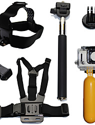 cheap -Accessory Kit For Gopro Floating Hand Grip Waterproof Floating 6 pcs For Action Camera Gopro 6 Gopro 5 Xiaomi Camera Gopro 4 Gopro 4 Session Diving Surfing Ski / Snowboard Plastic Fiber Carbon