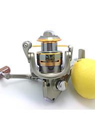 cheap -Fishing Reel Spinning Reel 5.1:1 Gear Ratio+8 Ball Bearings Hand Orientation Exchangable Sea Fishing Bait Casting Ice Fishing Spinning