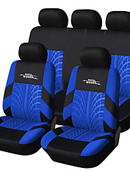 cheap -AUTOYOUTH Car Seat Covers Seat Covers Red / Blue / Gray Textile Common For Volvo / Volkswagen / Toyota