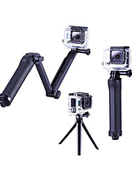 cheap -Hand Grips / Finger Grooves Tripod Adjustable All in One 1 pcs For Action Camera Gopro 6 All Gopro Gopro 5 Gopro 4 Gopro 4 Silver Plastic Aluminium Alloy / Gopro 4 Session / Gopro 4 Black / Gopro 3