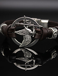 cheap -Women's Leather Bracelet Ladies Vintage Casual Fashion Leather Bracelet Jewelry Black / Brown For Daily
