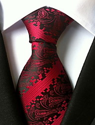 cheap -Men's Work Necktie - Paisley Print