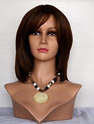 abordables -Perruque Cheveux Naturel humain Full Lace Cheveux Brésiliens Droit Femme Densité 120% avec des cheveux de bébé Cheveux Colorés Ligne de Cheveux Naturelle Perruque afro-américaine 100 % Tissée Main
