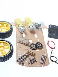 abordables -châssis de la voiture de châssis de la voiture robot bricolage / smart