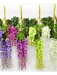 cheap -Silk Pastoral Style Vine Wall Flower Vine 1