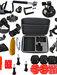 cheap -Accessory Kit For Gopro Waterproof Floating 31 pcs For Action Camera Gopro 6 All Gopro Gopro 5 Xiaomi Camera Gopro 4 Diving Surfing Ski / Snowboard Plastic Fiber Carbon / Gopro 3+ / Gopro 3 / Gopro 2