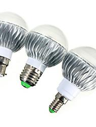 cheap -E14 GU10 E26/E27 B22 540lm 5W LED Globe Bulbs LED Dimmable Remote-Controlled RGB AC 85-265V