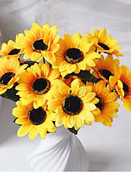 cheap -Polyester Pastoral Style Bouquet Tabletop Flower Bouquet 1