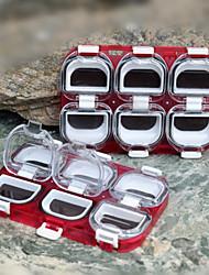abordables -Boîte à hameçons Imperméable 1 Plateau Plastique 11 cm 1.2*2 cm