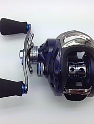 cheap -Fishing Reel Baitcasting Reel 6.3:1 Gear Ratio+14 Ball Bearings Left-handed Bait Casting / Freshwater Fishing / Lure Fishing - KW150 R