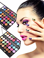 cheap -24 Colors Eyeshadow Palette Powders Matte Eye Matte Shimmer Glitter Shine smoky Coloured gloss Long Lasting Natural Daily Makeup Fairy Makeup Cosmetic Gift