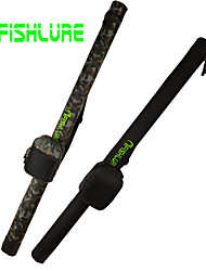cheap -AFISHLURE® 2015 New Arrival Fishing Rod Tube Fising Bag with Reel Bag Lure Rod Tubes 1.2M Black/Camouflage 120cmx7cmx7cm