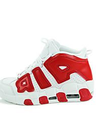 Недорогие -Универсальные Комфортная обувь Весна / Осень Спортивные / На каждый день Атлетический Повседневные на открытом воздухе Спортивная обувь Для баскетбола Дерматин / Контрастных цветов / Дышащий / EU42