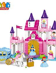 cheap -JunDaLong® Modern Princess Geometry combined intelligence Building BlocksToys