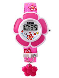Недорогие -Дамы Часы-браслет Цифровой Стеганная ПУ кожа Розовый / Фиолетовый Цифровой Кулоны Мода - Лиловый Розовый Два года Срок службы батареи / Maxell626 + 2025