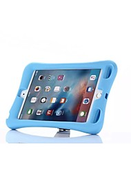 cheap -Case For Apple iPad Mini 4 Shockproof / with Stand Full Body Cases Solid Colored TPU