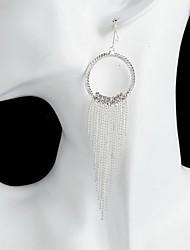 cheap -European Style Gold Plated Tassel Elegant Earring