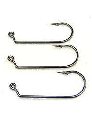 cheap -Fishing-10 pcs Black Stainless Steel / Iron-AnmukaSea Fishing / Fly Fishing / Bait Casting / Ice Fishing / Freshwater Fishing / Other /