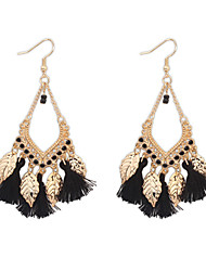 cheap -Women's Drop Earrings Chandelier Resin Earrings Jewelry Red / Light Blue / Rainbow For Wedding Party Daily Casual