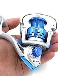 cheap -Spinning Reel 5.2:1 Gear Ratio+8 Ball Bearings Hand Orientation Exchangable Sea Fishing / Bait Casting / Ice Fishing - CS1000,CS2000 / Freshwater Fishing / Carp Fishing / Bass Fishing / Lure Fishing