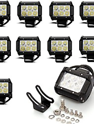 cheap -SUV / ATV / Tractor Light Bulbs 18W Epistar 1620LM Working Lights For
