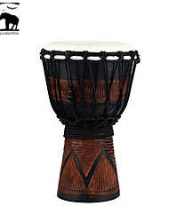 cheap -Sf Star of Africa  Indonesia Produce 7-Inch Carving Djembe-DPD30DS
