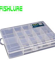 Недорогие -Коробка для мормышек Водонепроницаемый 1 Поднос Жесткие пластиковые 18.5 cm 3.5 cm