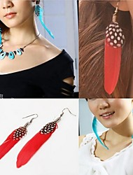 cheap -Women's Drop Earrings - Red / Green / Blue For Wedding Party Daily