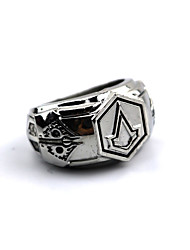 cheap -Jewelry Inspired by Assassin Connor Anime / Video Games Cosplay Accessories Ring Alloy Men's 855