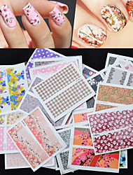cheap -30pcs-foreign-hot-manicure-stickers-wholesale-nail-stickers-decals-manicure-watermark-set-of-30-mixed