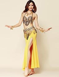 cheap -Belly Dance Skirt Draping Women's Performance Spandex Polyester