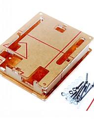 Недорогие -Дело корпус прозрачный акрил прозрачная крышка коробки для Arduino уно r3 r3 борту