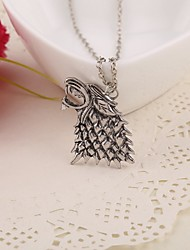 cheap -Women's Pendant Necklace Alloy Silver Necklace Jewelry For