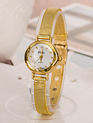 cheap -Women's Luxury Watches Fashion Watch Gold Watch Japanese Quartz Gold 30 m Casual Watch Analog Ladies Elegant - Golden Two Years Battery Life