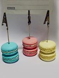 cheap -place cards and holders simulation macarons resin business card holder