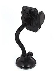 Недорогие -черный всасывания базы гибкая шея лобового стекла держатель для сотового телефона GPS