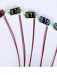 abordables -0,28 pouces 2.5v-30v mini-tension de voltmètre numérique testeur mètres