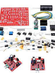 Недорогие -0-30V 2 мА - 3а регулируемые DC регулируется питания DIY Kit короткого замыкания ограничение тока Защита