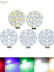 cheap -SENCART 5pcs 7 W 700-900 lm G4 LED Spotlight MR11 15 LED Beads SMD 5630 Dimmable Warm White / Natural White / Red 12 V / 24 V / 9-30 V / 5 pcs / RoHS
