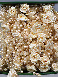 cheap -Creative Other Ribbon Rhinestone Wedding Ribbons - 1 Piece/Set Organza Ribbon Unique Wedding Décor Gift Bow Decorate favor holder