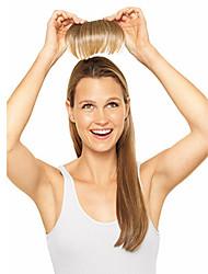 Недорогие -Чёлки Прямой Классика Искусственные волосы Наращивание волос На клипсе Повседневные / Прямой силуэт