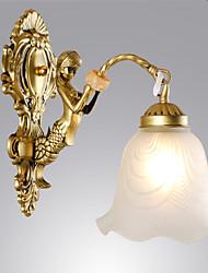 cheap -Traditional / Classic Wall Lamps & Sconces Metal Wall Light 110-120V 220-240V 60 W / E26 / E27