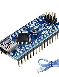 abordables -nano v3.0 ATmega328P pour Arduino (fonctionne avec les cartes Arduino officielles)