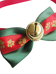 cheap -Cat Dog Tie / Bow Tie Dog Clothes Red Cotton Costume For Spring &  Fall Cosplay Wedding Christmas